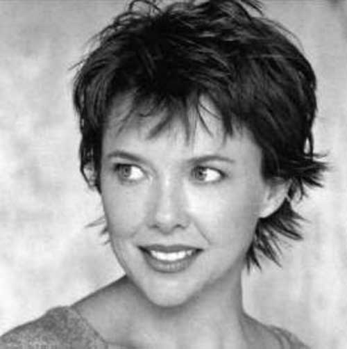 Layered Pixie Cuts for Actress