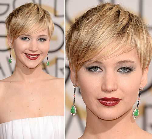 Layered Pixie Cut with Bangs 2014