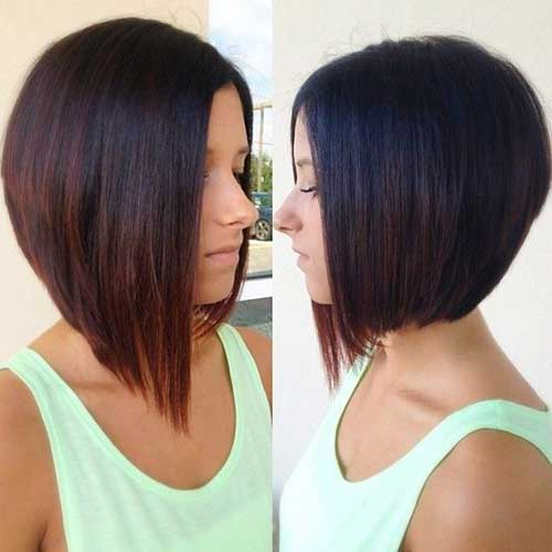 Long Bob for Fine Straight Hair with Ombre