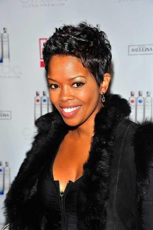 Malinda Williams Short Hair for Black Women Over 40