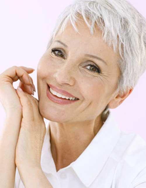 Mature Womens Short Pixie Haircuts