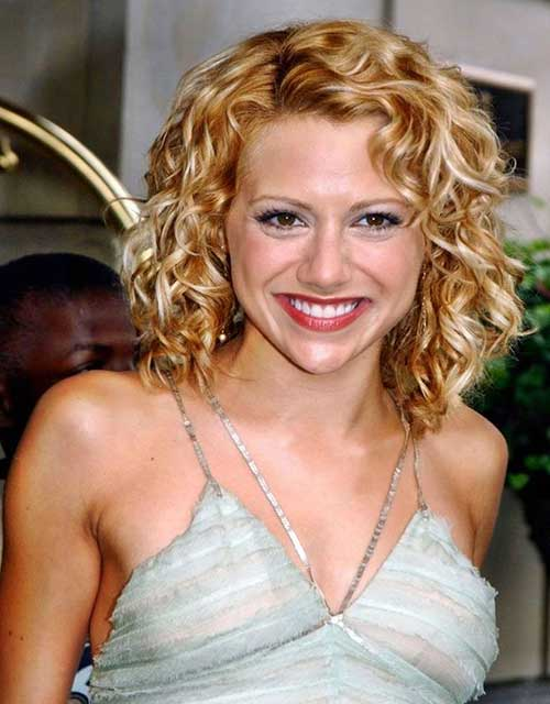 Curly Hairstyles For Short To Medium Length Hair : Hair medium length curly hairstyles