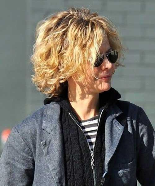 HD wallpapers short curly hairstyles meg ryan
