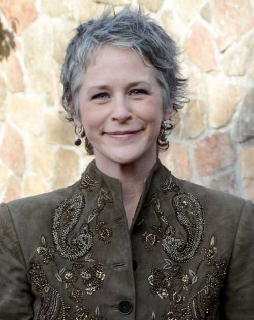 Melissa Mcbride Gray Short Hair Over 60
