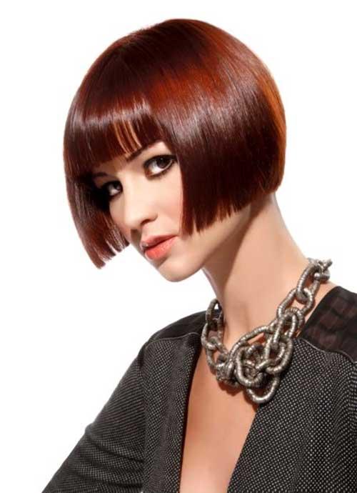 Modern French Bob Haircuts