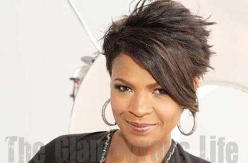 Nia Long Spikey Short Pixie Hairstyles