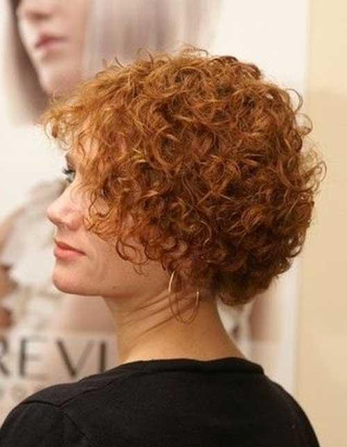 Short Hair Curly Perm Hairstyles