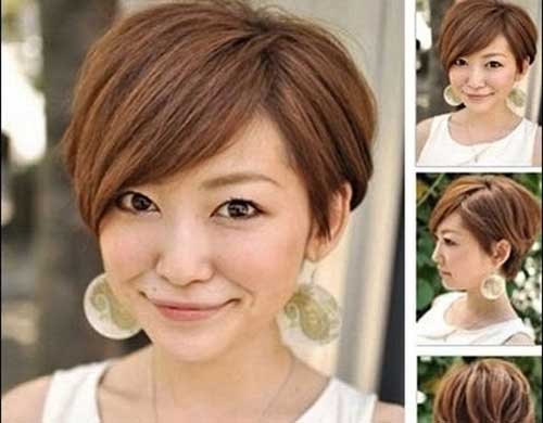 Best Hair Styles For Round Face: 15 New Pixie Bob Hairstyles