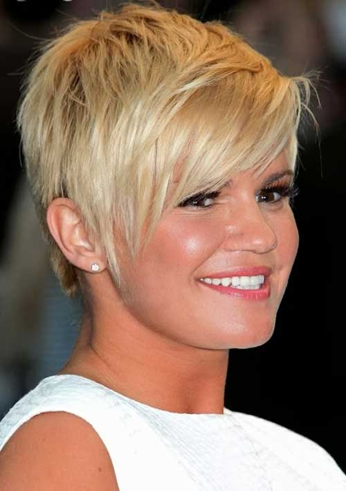 Pixie Haircuts with Cute Side Bangs