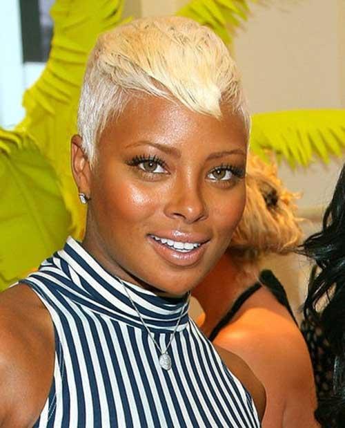 Best Platinum Blonde Short Hair for Black Women