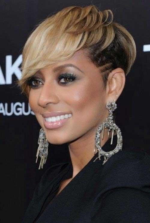 Popular Short Blondie Hair for Black Women