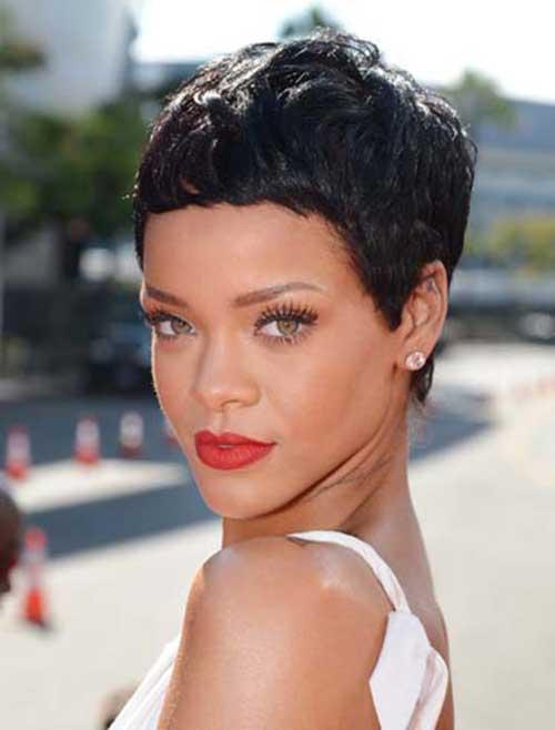 Rihanna Pixie Haircuts