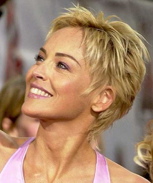 Best Sharon Stone Short Hairstyles | The Best Short Hairstyles for ...