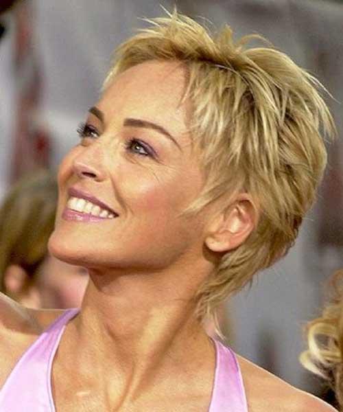 Sharon Stone Best Haircut