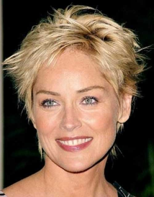 Sharon Stone Latest Hairstyle | hnczcyw.com