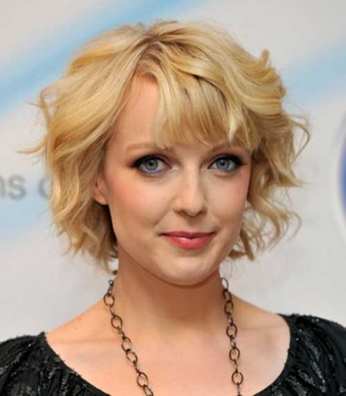 Bob Bangs Round Face Best Short Hairstyles