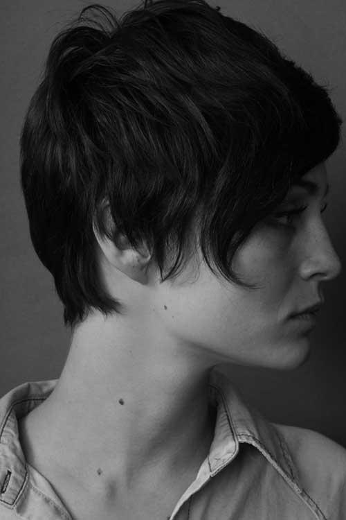 Best Short Dark Hair for Brunettes