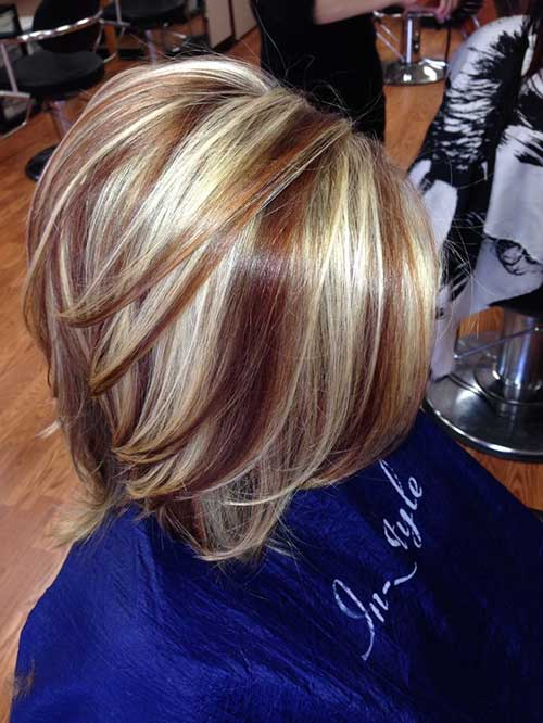 Best Short Blonde and Brown Hair | The Best Short Hairstyles for Women ...