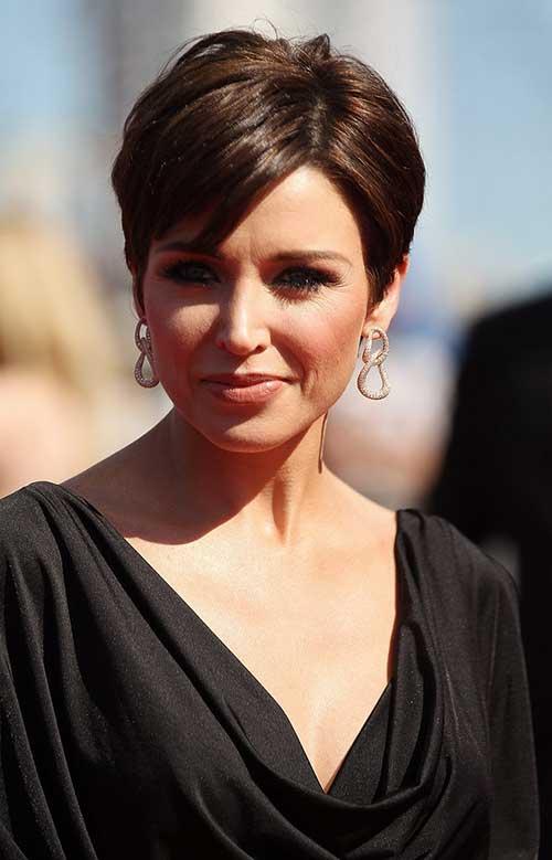 Best Short Hair Styles for Brunette Women