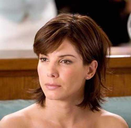 Best Short Hair with Bangs for Brunettes