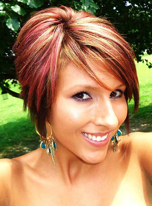 ... asimismo red hair with blonde highlights pixie cut manic panic hair