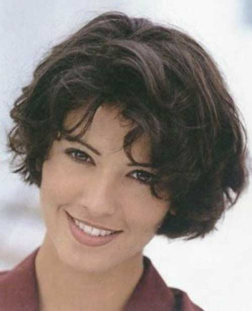 Easy Short Haircuts for Curly Hair Women