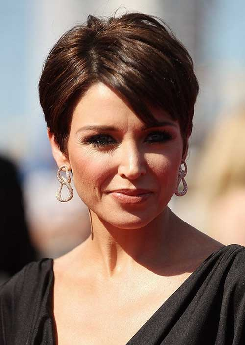 Layered Short Haircuts for Over 50s