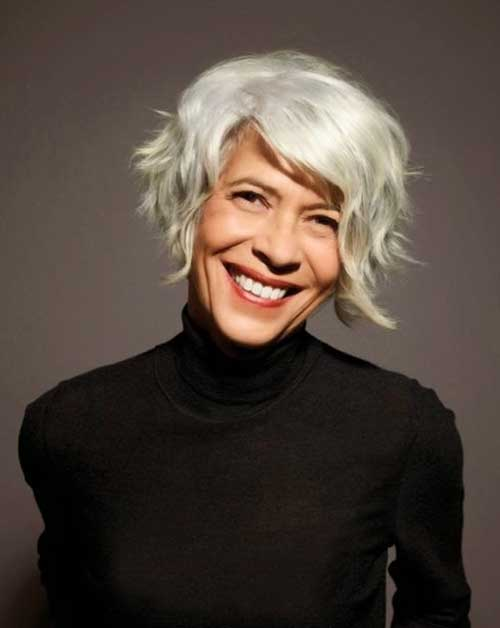 Short Bob Haircuts for Over 70