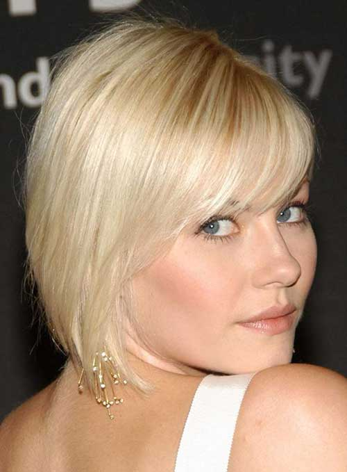 Short Hairstyles With Bangs For Fine Hair The Best Short Hairstyles ...