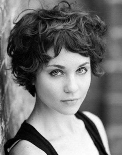 Tuppence Middleton Short Hair with Bangs Thick Hair