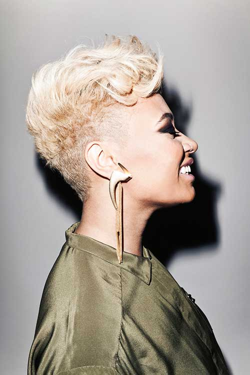 Short Blonde Hairstyles for African Americans