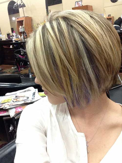 Best Short Hairstyles with Color Streaks