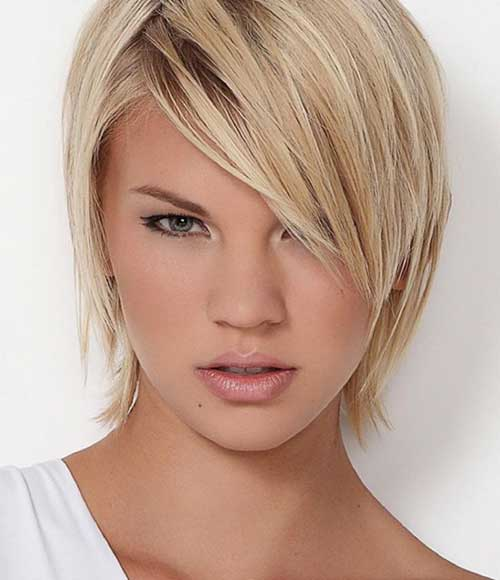 Short Layered Bob Summer Hairstyles with Bangs