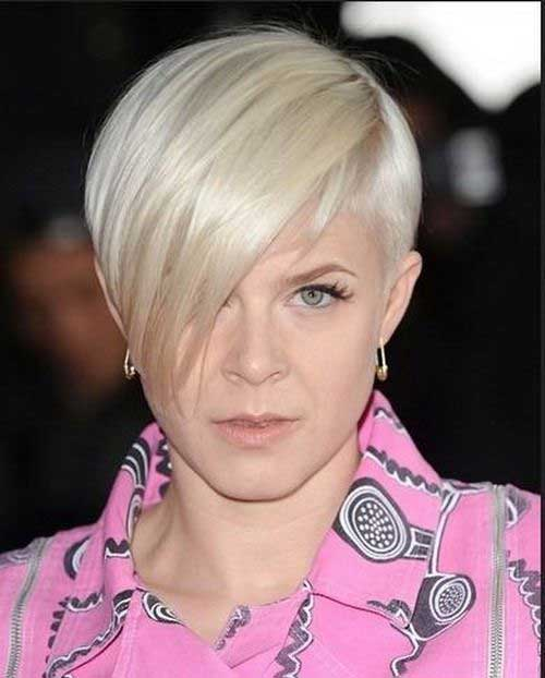 Best Short Layered Hair with Bangs