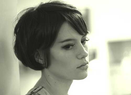 Hairstyles For Short Hair Clubbing : Pixie bob haircut back view images