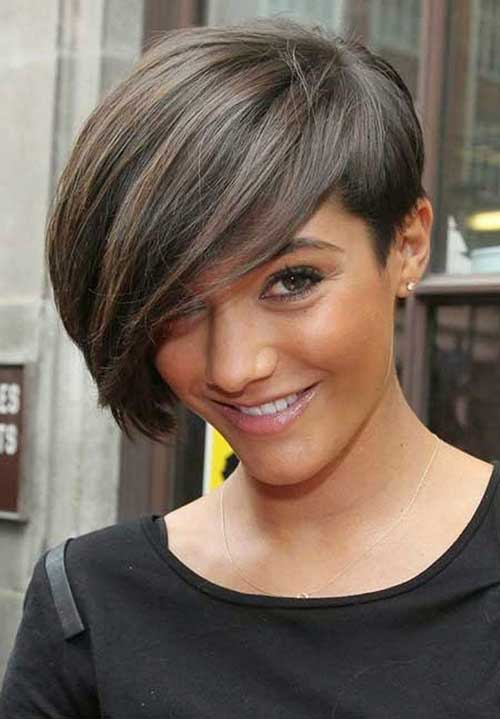 Short Thick Hair with Long Pixie Cut