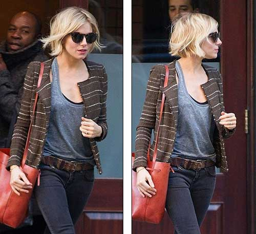 Sienna Miller Blonde Brown Hairstyles