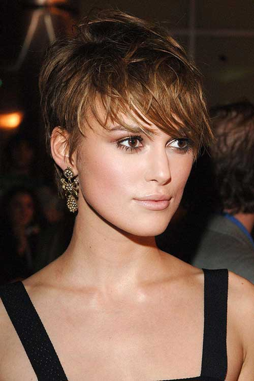 Keira Knightley Pixie with Ombre