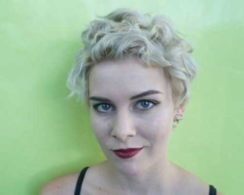 Super Short Curly Pixie Hairstyles