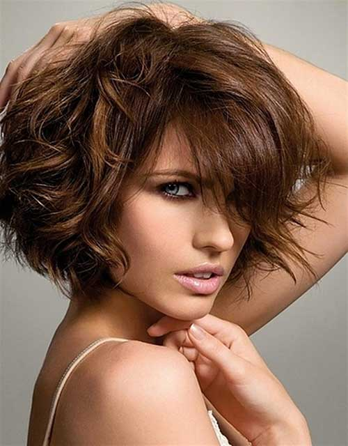 Thick Bob Hair for Brunettes