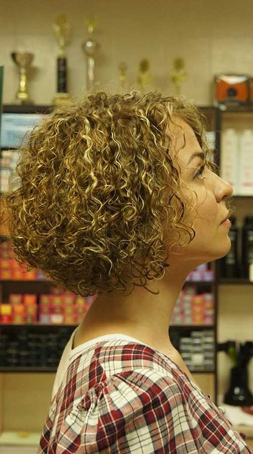 Short Curly Perms | The Best Short Hairstyles for Women 2016