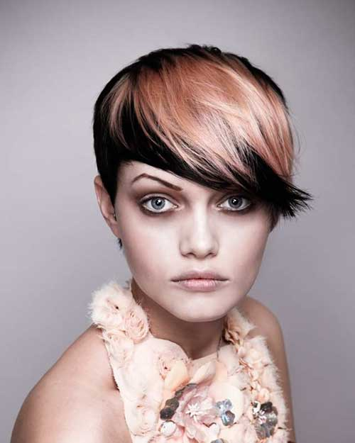 Two Tone Short Hair