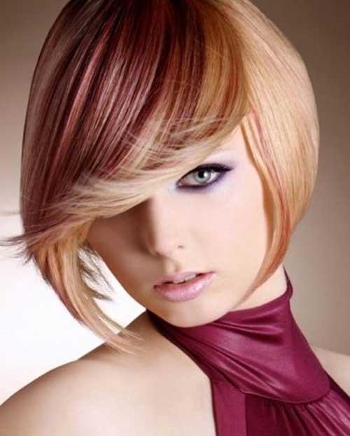Short Hair Color Streaks | The Best Short Hairstyles for Women 2015