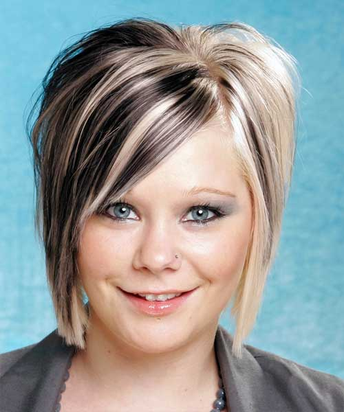 Two Tone Colored Short Hair