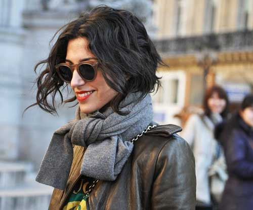 Very Short Wavy Casual Hairstyles