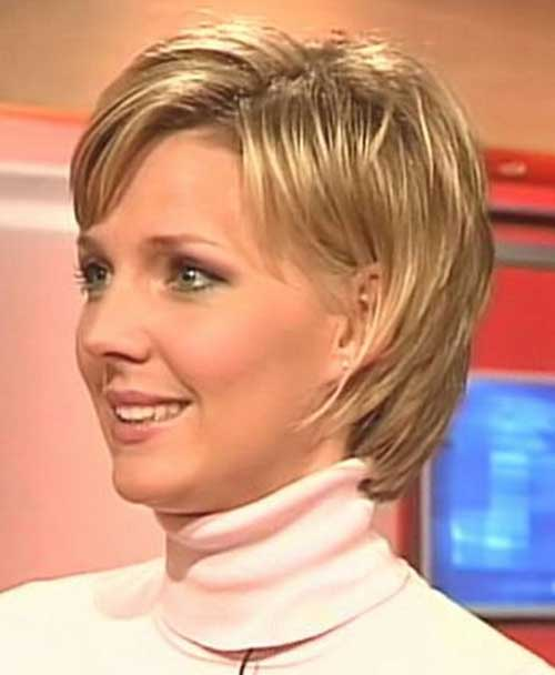 Nice Women Short Hair with Bangs