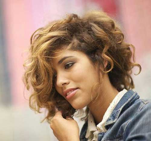 1000+ Ideas About Thick Curly Haircuts On Pinterest