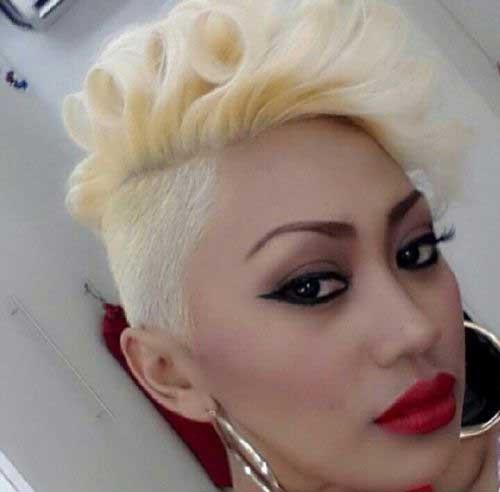 Blonde Pixie Cuts for Black Women
