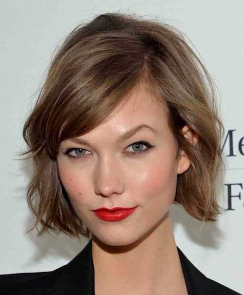 Best Bob Haircut with Side Bangs