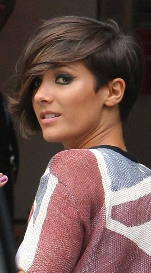 Brunette Layered Short Haircuts